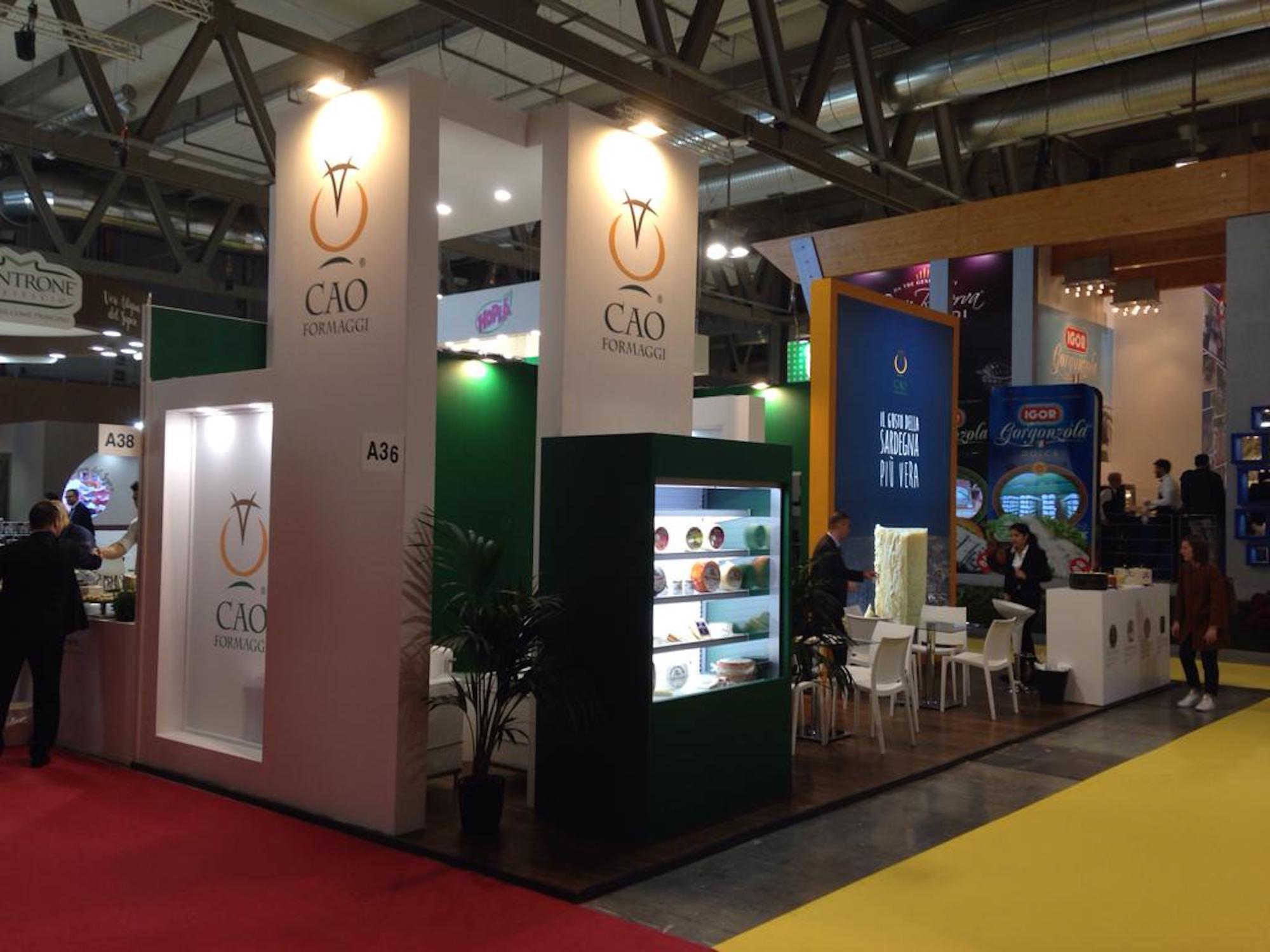 Tuttofood Milano 2019 - CAO Formaggi | Sermedia Srl